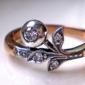 Güldisch virág gyűrű