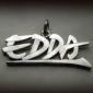 Edda ezüst medál
