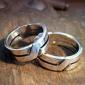 Karikagyűrűk aranyból és ezüstből
