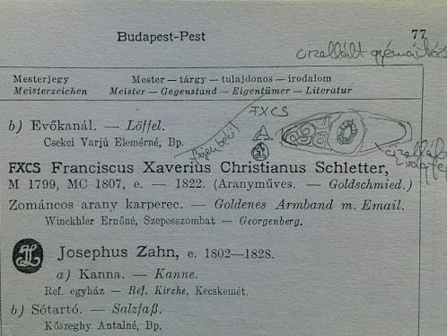 Franciscus Xaverius Kőszegi Elemer könyvében