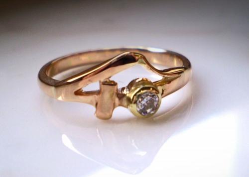 Arany gyűrű 40 éves évfordulóra