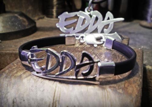 Edda ezüst karkötő és medál