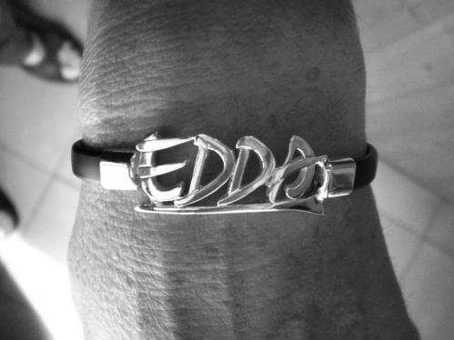 Edda ezüst karkötő