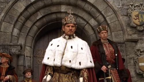 Korona Zsigmond királynak a filmben