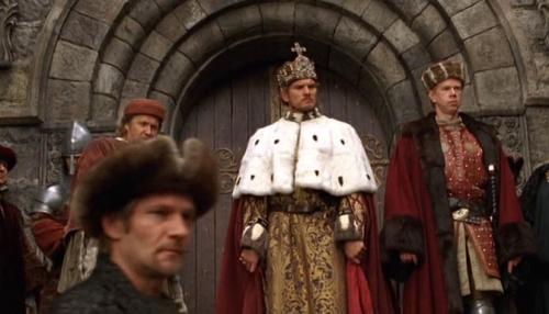 Pecsétgyűrű Zsigmond királynak a filmben