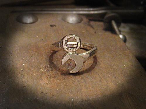 Csillag-villáskulcs gyűrű