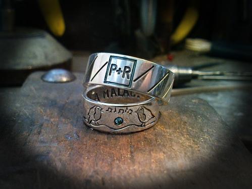 Páratlan páros karikagyűrű 1.