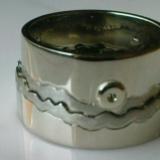 Összeillő fehérarany karikagyűrű