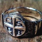 Bencés rózsafüzér gyűrű