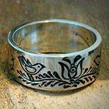 Magyar Népmesék ihlette karikagyűrű