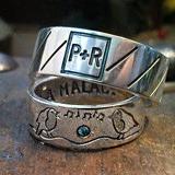 Páratlan páros karikagyűrű