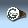 Bólyai/Bánki gépész gyűrű
