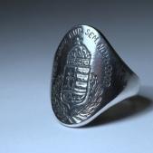 Emlékgyűrű: Semmelweis Egyetem - címer