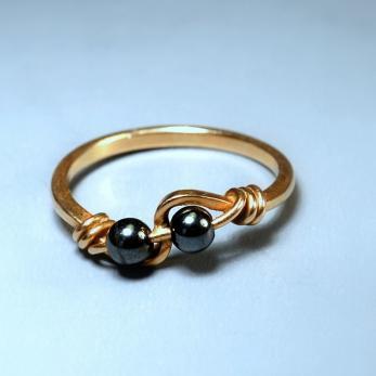 Borókabogyós gyűrű