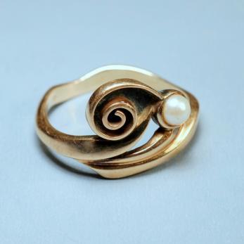 Gyöngyös csiga gyűrű