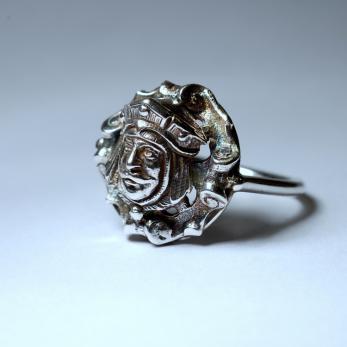 Királyfej gyűrű 1
