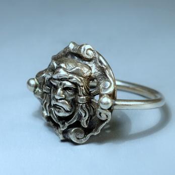 Királyfej gyűrű 2
