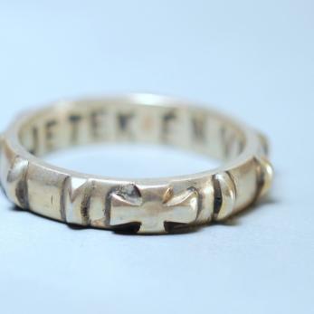 Rózsafüzér gyűrű